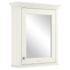 Image for Bayswater 600mm Mirror Wall Cabinet Pointing White - BAYF130