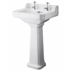 Image for Bayswater Fitzroy 560mm 2 Tap Hole Basin - BAYC004