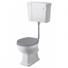 Image for Bayswater Fitzroy Low Level Cistern With White Ceramic Lever - BAYC018