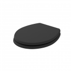Image for Bayswater Fitzroy Traditional Soft Close Toilet Seat Matt Black - BAYF149