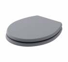 Image for Bayswater Fitzroy Traditional Soft Close Toilet Seat Plummett Grey - BAYF151