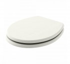Image for Bayswater Fitzroy Traditional Soft Close Toilet Seat Pointing White - BAYF150