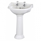Image for Bayswater Porchester 500mm 2 Tap Hole Basin - BAYC105