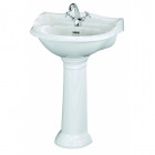 Image for Bayswater Porchester 600mm 1 Tap Hole Basin - BAYC101