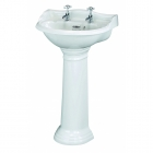 Image for Bayswater Porchester 600mm 2 Tap Hole Basin - BAYC104