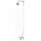 Image for Bayswater Rigid Riser Kit For Bath Shower Mixer Including Swivel Chrome - BAYS207