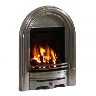 Be Modern Abbey Inset Gas Fire - Fully Polished Deepline
