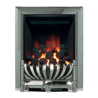 Be Modern Avantgarde Inset Gas Fire - Chrome Deepline