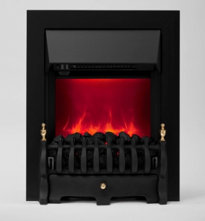 Be Modern Camberley LED Inset Electric Fire - Black (Deep Trim)