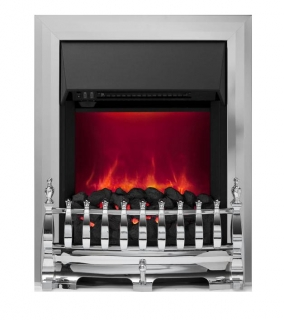 Be Modern Classic Inset Gas Fire - Chrome Slimline