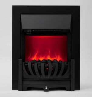 Be Modern Lexus LED Inset Electric Fire - Black