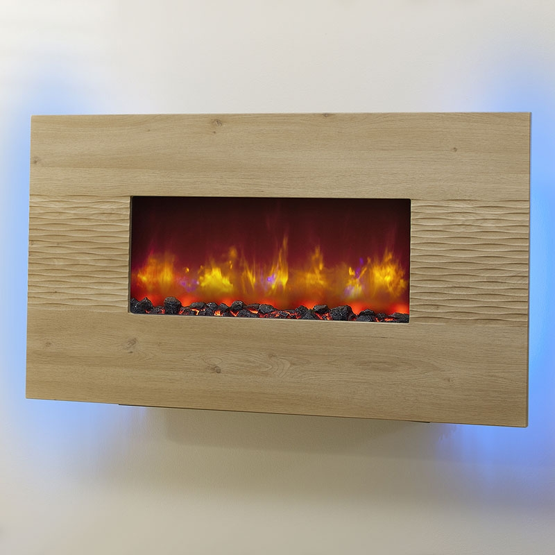 Be Modern Orlando Led Wall Hung Electric Fire