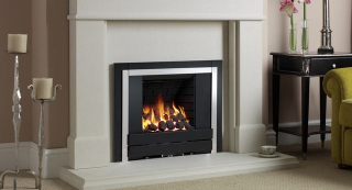 Be Modern Panoramic Inset Gas Fire - Slimline