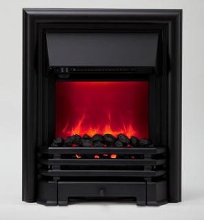 Be Modern Savannah LED Inset Electric Fire - Black
