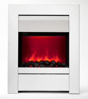 Be Modern Sensation LED Inset Electric Fire - Chrome/Coals