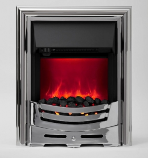 Be Modern Signum Inset Gas Fire - Chrome Slimline