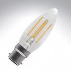 Image for Bell 4W BC B22 LED Dimmable Candle Light Bulb Warm White - 05305