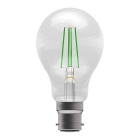 Image for Bell 4W BC LED Light Bulb With Amber Filaments With Green Filaments - 60065