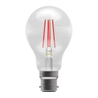 Image for Bell 4W BC LED Light Bulb With Red Filaments - 60067