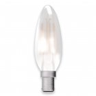 Image for Bell 4W SBC B15 LED Satin Candle Lamp Warm White - 05128