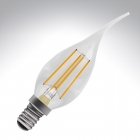 Image for Bell 4W SES E14 LED Candle Bent Tip Light Bulb Warm White - 05026