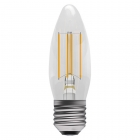Image for Bell 4W SES E14 LED Clear Candle Light Bulb Warm White - 05025