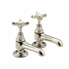 Image for Bristan 1901 - Basin Tap - Deck Mounted Pillar (Pair) - Gold - N 1/2 G CD