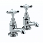 Image for Bristan 1901 - Basin Tap - Deck Mounted Vanity Pillar (Pair) - Chrome - N VAN C CD