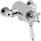 Image for Bristan 1901 Exposed Concentric Shower Valve - Bottom Outlet - Chrome - N2 CSHXVO C