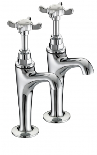 Bristan 1901 High Neck Pillar Taps