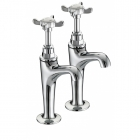 Image for Bristan 1901 - High Neck Pillar Taps N HNK C