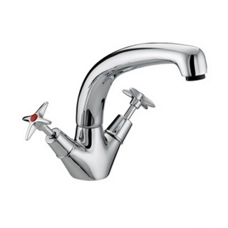 Bristan 5412 Cross Top Monobloc Sink Mixer VAX SNK C