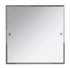 Bristan 600 x 600mm Square Bathroom Mirror COMP MRSQ C