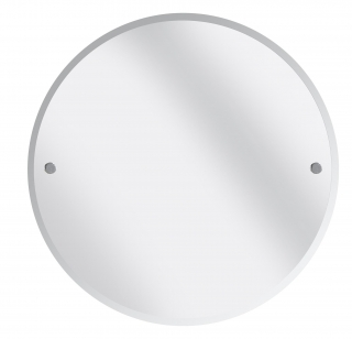 Bristan 610mm Round Bathroom Mirror - Chrome COMP MRRD C