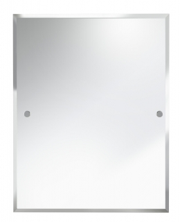 Bristan 700 x 550mm Rectangle Bathroom Mirror COMP MRRE C