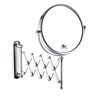 "Bristan 8"" Extending Shaving Mirror COMP EXTMR C"