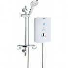 Image for Bristan Bliss - Electric - 10.5kW Shower & Kit - White - BL3105W