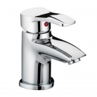 Image for Bristan Capri - Basin Tap - Deck Mounted Monobloc (With Eco-Click Waste) - Chrome - CAP EBAS C
