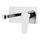 Image for Bristan Claret - Basin Tap - Wall Mounted 2 Hole Mixer - Chrome - CLR WMBAS C