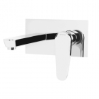 Image for Bristan Claret - Bath Tap - Wall Mounted 2 Hole Filler - Chrome - CLR WMBF C