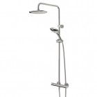 Image for Bristan Claret Thermostatic Exposed Bar Valve Mixer Shower CLR SHXDIVFF C