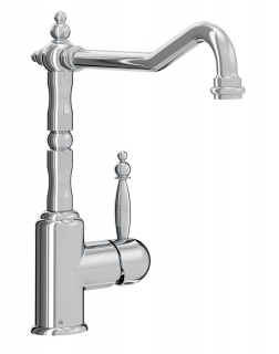 Bristan Colonial EasyFit Monobloc Kitchen Sink Mixer Tap With Lever K SNKSL EF C