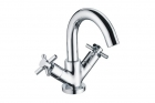 Image for Bristan Decade - Basin Tap - Deck Mounted Monobloc (With Pop-Up Waste) - Chrome - DX BAS C