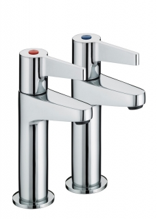 Bristan Design Utility Lever High Neck Kitchen Taps DUL HNK C