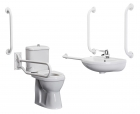 Bristan Disabled Bathroom Doc M WC Pack - Blue or White