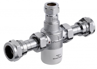Bristan Gummers 15mm Thermostatic Mixing Valve MT503CP-22