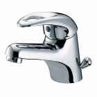 Image for Bristan Java - Basin Tap - Deck Mounted Monobloc (With Eco-Click & Clicker Waste) - Chrome - J EBAS C