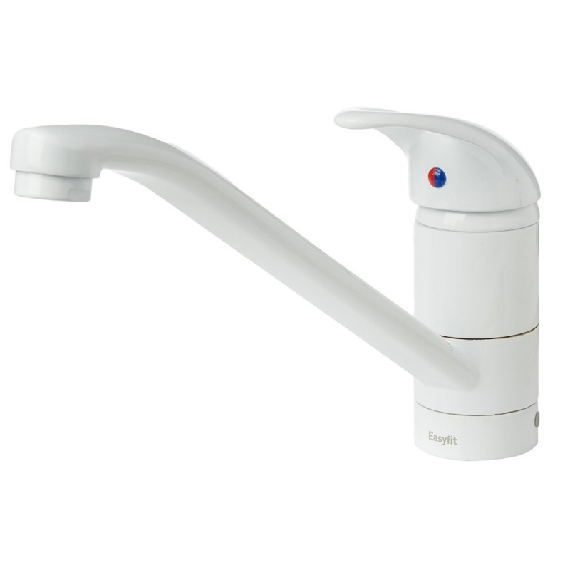 White Kitchen Mixer Tap kitchen sink mixer taps - destroybmx