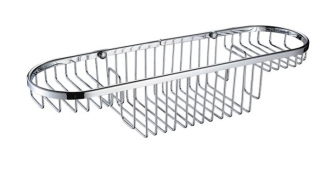 Bristan Large Wall Fixed Wire Basket COMP BASK01 C