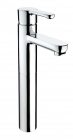 Image for Bristan Nero - Basin Tap - Deck Mounted Monobloc Mixer Tall (Without Waste) - Chrome - NR TBAS C